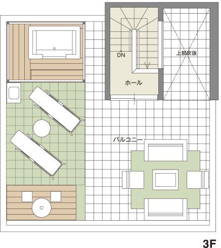 4×4の3F見取り図